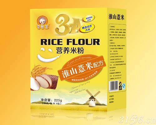 淮山薏米配方营养米粉