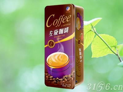 左旋咖啡樱桃味铁盒