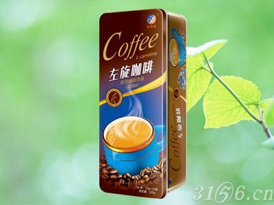左旋咖啡蓝莓味铁盒