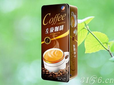 左旋咖啡牛奶味铁盒