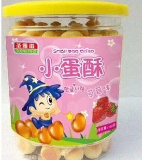 圣雅滋草莓味小蛋酥