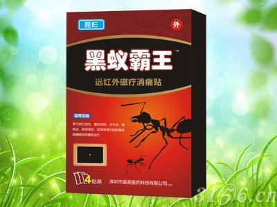 黑蚁霸王远红外磁疗消痛贴