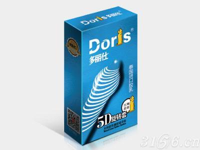多丽仕避孕套系列-螺纹型