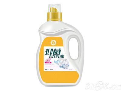 锦上花®2.5升抑菌洗衣液