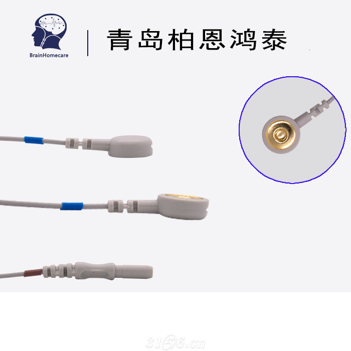 心电导联线纽扣电极心电采集