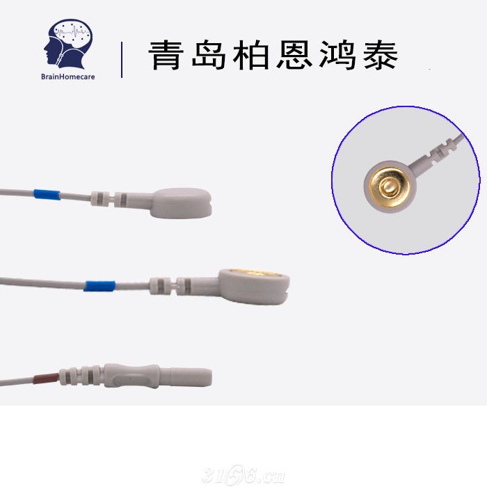 心电导联线纽扣电极心电采集招商