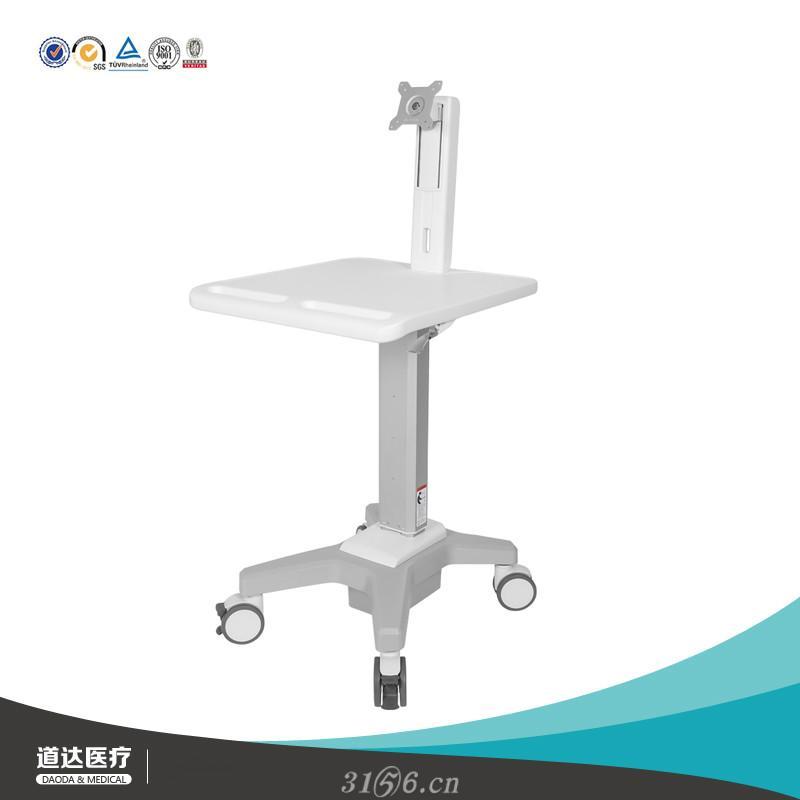 电脑查房车医生信息化工作站推车医护站立办公桌