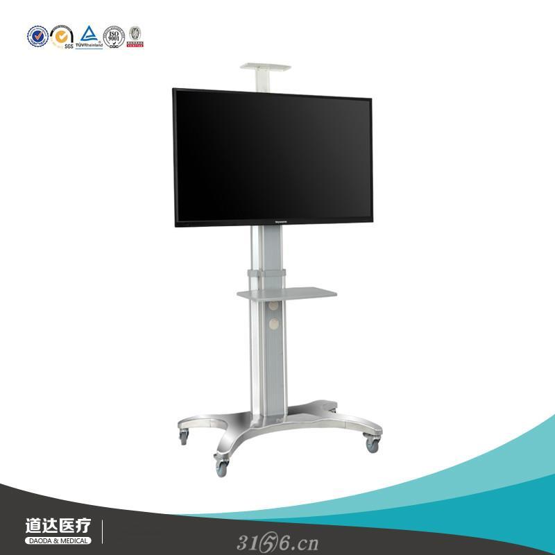 电视落地支架推车液晶电视机挂架远程视频会议会诊仪器台车