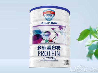 (美盾)蛋白质粉1000g铁听-多维