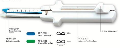 一次性直线切割吻合器及钉仓组件