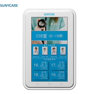 长沙医院病房门灯替换13寸液晶屏门口分机接听对讲呼叫