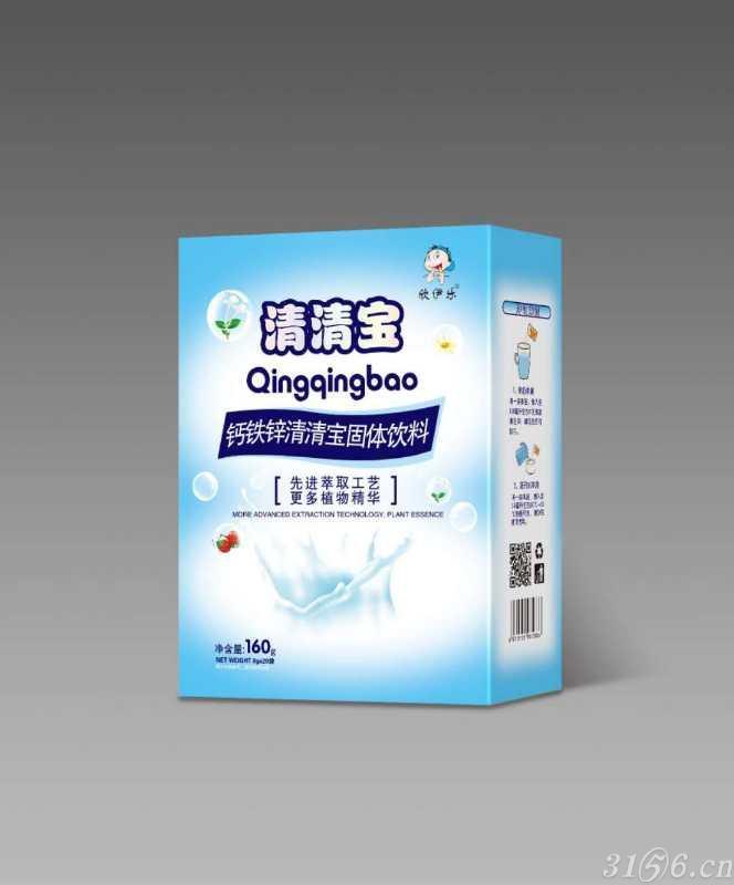 鈣鐵鋅清清寶固體飲料