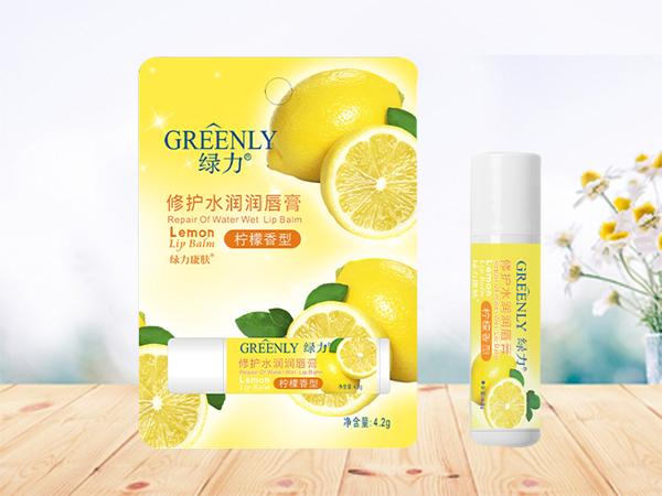 修護水潤潤唇膏(檸檬香型)