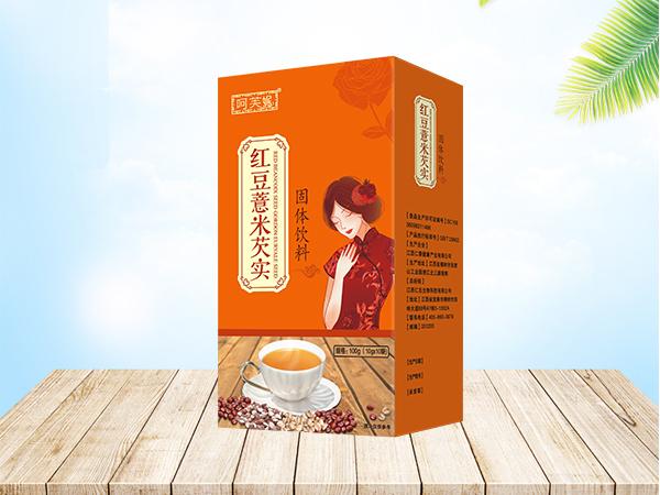 红豆薏米芡实固体饮料