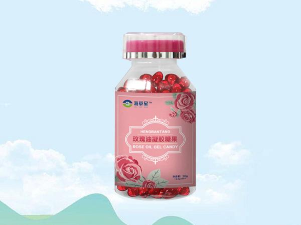 玫瑰油凝胶糖果